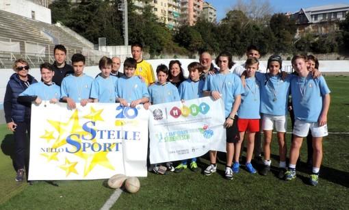 Rugby: entrambe le formazioni dell'Istituto Comprensivo San Giovanni Battista si qualificano alle regionali
