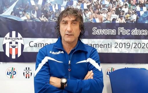 """Calcio. Savona-Bra a rischio rinvio, mister De Paola dopo i primi allenamenti con la squadra: """"Dobbiamo lavorare su cattiveria e determinazione, subito in campo col 4-3-3"""" (VIDEO)"""