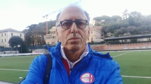 """Eccellenza. Genova Calcio, Maisano ne ha per tutti dopo la vittoria di Finale: """"Bene anche in dieci contro undici, ma certe pazzie non le tollero. Il campionato a due gironi? Per me non è calcio"""" (VIDEO)"""