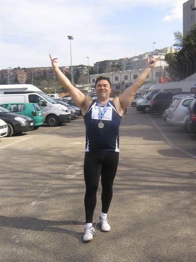 Getto del peso: Ferdinando Ferrati sale sul podio ai Master di Ancona