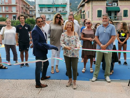 Alassio, inaugurato il campo Multisport del PalaRavizza (FOTO)