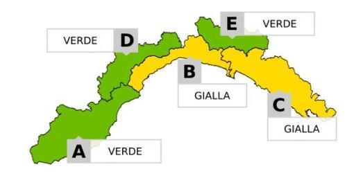 Maltempo, da Noli a Portofino allerta gialla per temporali forti: impianti sportivi aperti