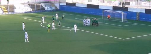 Calcio, Eccellenza. Gli highlights della sfida tra Albenga e Angelo Baiardo
