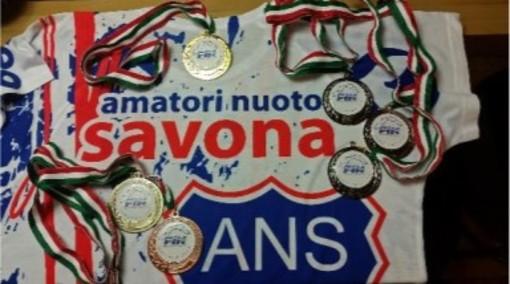 Ottime prestazioni dell'Amatori Nuoto Savona nelle ultime gare