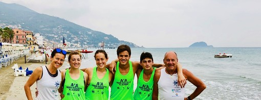 La squadra di Wake Walking del CNAM Alassio rappresenta l'Italia ai Beach Games in Grecia