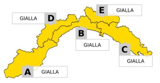 Torna il maltempo: domani allerta gialla su tutta la regione