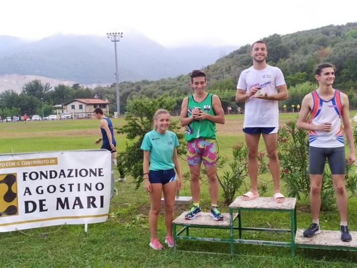 Biancardi, Accame e Ebrille sfrecciano nella seconda tappa di Boissano Atletica Estate