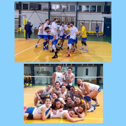 En plein per l'Albisola Volley, pollice alto per la squadra femminile e quella maschile