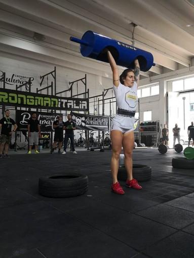 Kettlebell: Alice Colella, una campionessa del Mondo a Finale Ligure