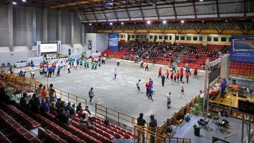 Il  sindaco di Alassio ha aperto ufficialmente i Mondiali di bocce