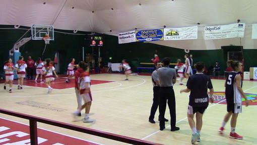 Basket, Serie B femminile: Amatori sconfitta in volata da Lavagna nel derby del Geodetico