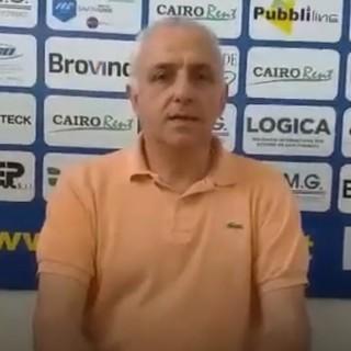 """Calcio, Cairese. Mister Benzi guarda al campionato: """"Torneo anomalo. Saviozzi? E' libero di decidere il suo futuro"""" (VIDEO)"""