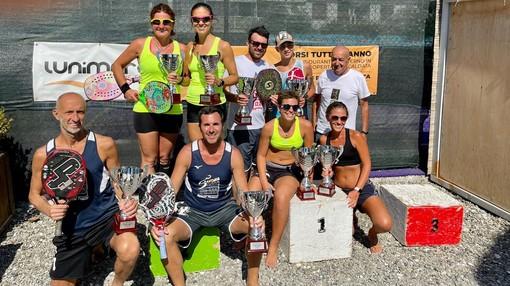 Beach Tennis: il B.T. Savona coglie un doppio secondo posto ai campionati regionali di La Spezia