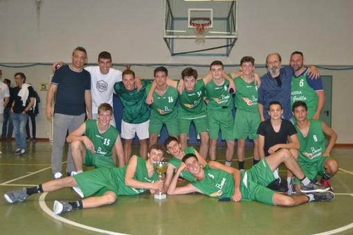 Basket, leva 2003: il Ceriale è campione regionale