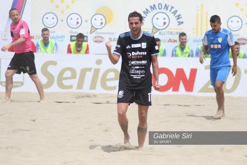 Beach Soccer. La tappa di Lignano Sabbiadoro inizia al meglio, la Virtus Entella BS supera il Bari BS