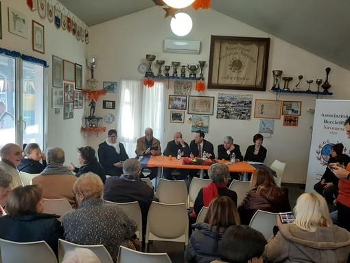 """Savona, 100 anni e non sentirli per l'Associazione Bocciofila Savonese. Il presidente Gugliotta: """"Vogliate bene a questa grande vecchia"""""""
