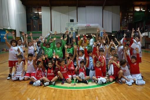 Basket: tanti cestisti in erba hanno partecipato a Loano al primo torneo Decathlon