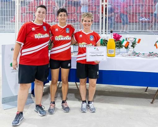 Bocce, volo: Loano premia la Borgonese, il tricolore femminile va alla squadra torinese