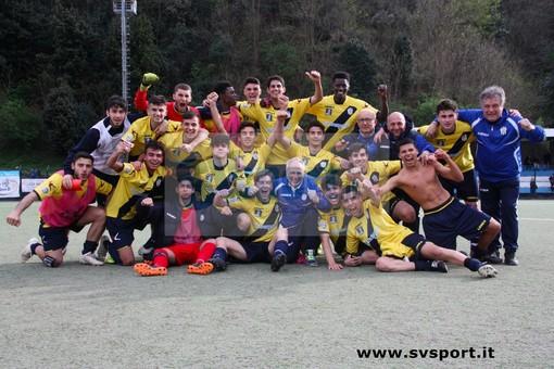 Calcio. Juniores Nazionali, TRIONFO SAVONA! Gli striscioni battono 5-1 il Ligorna e vincono il girone F