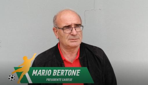"""Calcio, Cairese. Il presidente Bertone guarda già alla semifinale: """"Speriamo di incontrare il Finale... e di vincere!"""" (VIDEO)"""