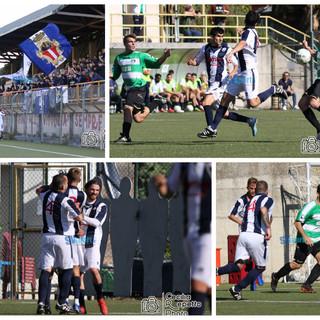Calcio, Savona - Speranza. Rivediamo il poker biancoblu negli scatti di Cecilia Repetto