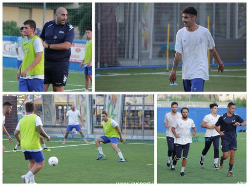 """Calcio, Pietra Ligure. Gli scatti del primo allenamento al """"De Vincenzi"""""""