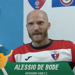 """Calcio, Vado. De Bode amaro per l'espulsione a Capra: """"L'arbitro gliel'aveva promessa. Cirillo è una scommessa vinta da questa società"""" (VIDEO)"""