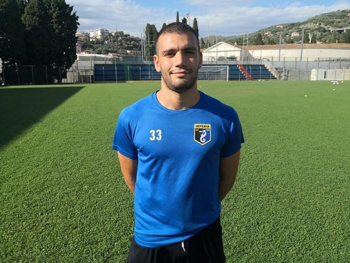Calcio, Serie D. Dalla Sicilia un nuovo attaccante per l'imperia, ha firmato Domenico Mistretta