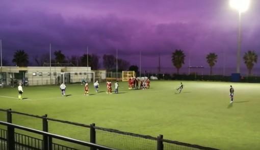 Calcio, Priamar: la punizione vincente di Cerato non basta per superare la Vadese (VIDEO)