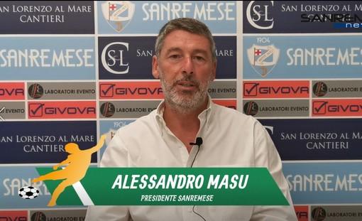 """Calcio, Sanremese. A tre mesi dal suo insediamento, parla il Presidente Masu:"""" La riapertura della tribuna per noi è importante. Fava? Per il momento non ci saranno sostituti."""""""