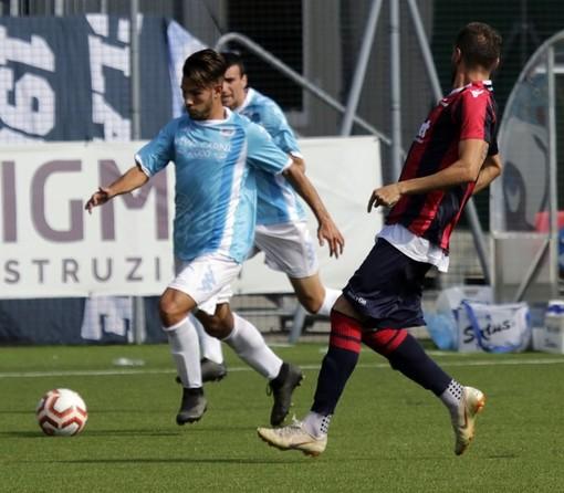 Calcio. La Sanreemese passa in amichevole a Sestri Levante, decide Demontis nel finale di gara