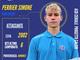 Calcio, Ceriale. Simone Perrier promosso in Prima Squadra. Una promessa e tante speranze per l'attaccante classe 2002