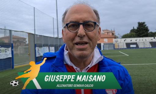 """Calcio. Beppe Maisano e la Genova Calcio chiudono il girone al secondo posto: """"Organizzazione, entusiasmo e voglia pagano"""" (VIDEO)"""