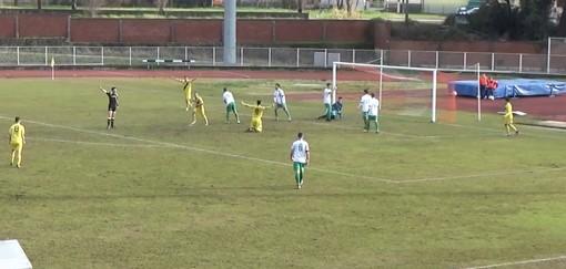 Calcio, Savona: Disabato decide la trasferta con la Fezzanese, gli highlights della partita (VIDEO)