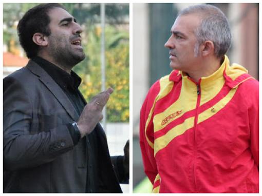 Calcio, Eccellenza. Domani c'è il derby, Pietra Ligure e Finale si aggrappano ai propri due timonieri