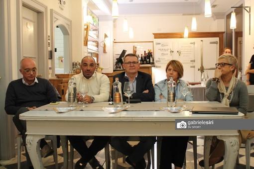 """Calcio, Albissola: la conferenza stampa di presentazione di Claudio Bellucci: """"Non vengo allo sbaraglio, dobbiamo fare punti"""""""