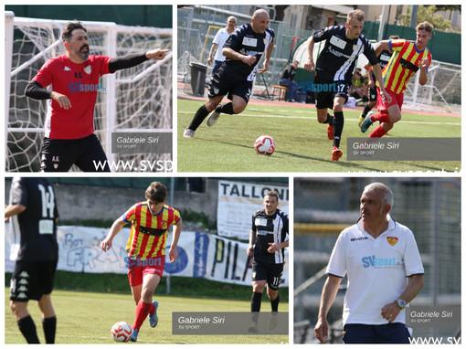 Calcio. Al Borel un punto a testa per Finale e Albenga. La fotogallery di Gabriele Siri