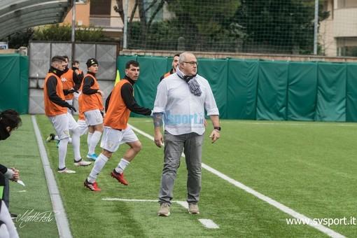 Calcio, Albenga. Ripresi i lavori sotto la gestione Lepore, ecco le novità viste in campo contro il Rapallo Rivarolese
