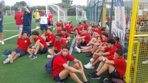 Calcio, Vado: festa grande per il settore giovanile rossoblu (FOTOGALLERY)