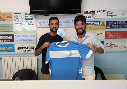 """Calciomercato, Pietra Ligure. Dopo quattro anni torna al """"De Vincenzi"""" il centrocampista Daniele Barone"""