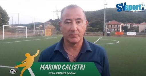 """Calcio, Savona. Anche il team manager Calistri brinda al primo successo ufficiale: """"Q&V squadra ostica. La società sta crescendo in tutte le sue componenti"""" (VIDEO)"""