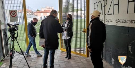 Calcio, Albenga. Questa sera gli ingauni sbarcano sul Tg3 Regione