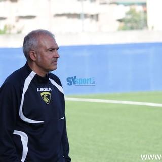 """Calcio, Finale. Ancora conferme per Buttu dopo la partita con l'Albenga: """"Felice della personalità dei giovani. A Cairo? Con le barricate"""" (VIDEO)"""