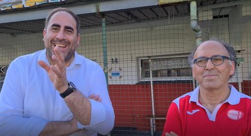 """Calcio, Pari e intervista doppia per i tecnici Maisano e Pisano: """"Mario è un amico, si è sempre guadagnato tutto sul campo"""" (VIDEO)"""