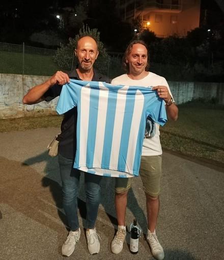 Calcio, Spotornese. Tanto entusiasmo nella serata di presentazione, al vertice dello staff tecnico Massimo Peluffo e Alessio Barone