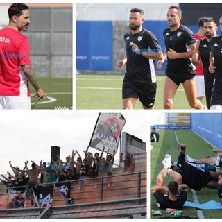 Calcio, Albenga: la fotogallery del primo allenamento bianconero