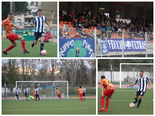 Calcio, Savona - Bra: il fotoracconto della partita negli scatti di Mattia Pastorino