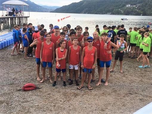 Canottieri Sabazia: i ragazzi biancorossi non deludono a Caldonazzo