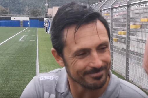 """Calcio, Albenga. Solari plaude la rimonta sull'Imperia: """"Chi vuole essere protagonista deve avere questo temperamento"""" (VIDEO)"""