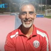 """Calcio, Arenzano. Crociati a due volte per mister Corradi: """"Bene nel primo tempo, male nella ripresa. Cò che conta però è il risultato positivo"""" (VIDEO)"""